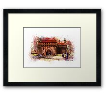 Cracow, Barbican Framed Print