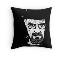 Heisenberg from Breaking Bad Throw Pillow
