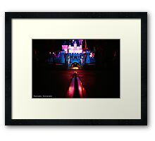 The Path to Fantasy  Framed Print