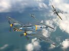 Dogfight Over The Channel by Colin  Williams Photography