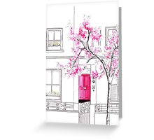 London in Spring Greeting Card