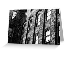 Old Office Building Greeting Card