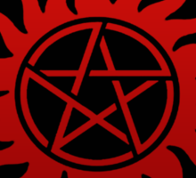 Supernatural  Killing evil son bitches raising a little hell  Ring Patch  Sticker