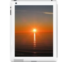 San Francisco Sunset 1425 iPad Case/Skin