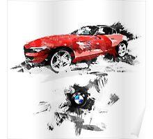 BMW Z4 Poster