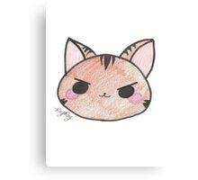 Kawaii Kitten Canvas Print