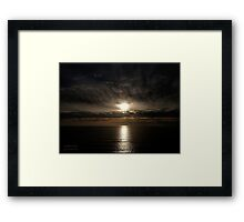San Francisco Sunset 1501 Framed Print