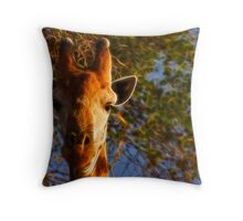 Kruger Giraffe Throw Pillow