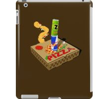 Retro Gaming Session -Pizza joystick- iPad Case/Skin