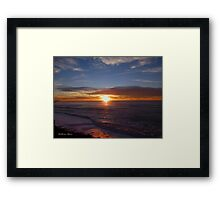 San Francisco Sunset 1502 Framed Print
