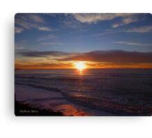 San Francisco Sunset 1502 Canvas Print