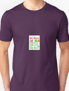 The Easter rising 1916 Ireland Peace 2016 T-Shirt