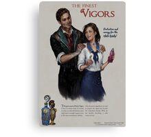 Bioshock Infinite Vigor Poster Canvas Print