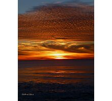 San Francisco Sunset 1503 Photographic Print