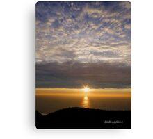San Francisco Sunset 1504 Canvas Print