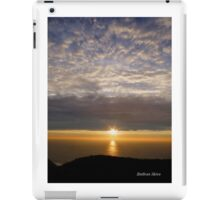 San Francisco Sunset 1504 iPad Case/Skin