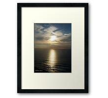 San Francisco Sunset 1505 Framed Print