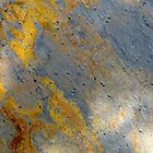Abstract rockface by Maggie Hegarty