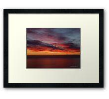 San Francisco Sunset 1507 Framed Print