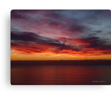 San Francisco Sunset 1507 Canvas Print