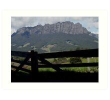 photoj Tas, Sheffield West Kentish-Mt Roland Art Print