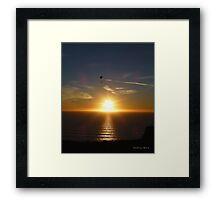 San Francisco Sunset 1508 Framed Print