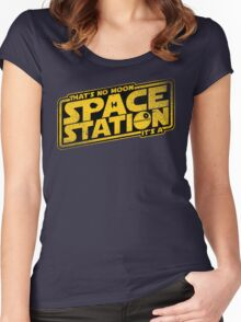 It's a Space Station Women's Fitted Scoop T-Shirt