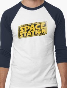 It's a Space Station Men's Baseball ¾ T-Shirt