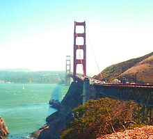 Golden Gate Bridge 2 by Paula Parker