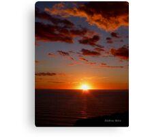 San Francisco Sunset 1512 Canvas Print