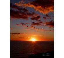 San Francisco Sunset 1512 Photographic Print