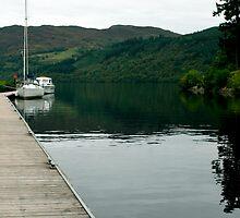 The Beginning of Loch Ness by Viv Andrew