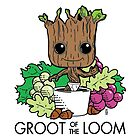 Groot of the Loom by outofthedust