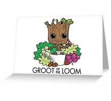 Groot of the Loom Greeting Card