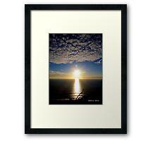 San Francisco Sunset 1515 Framed Print