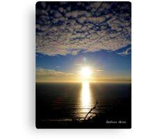 San Francisco Sunset 1515 Canvas Print