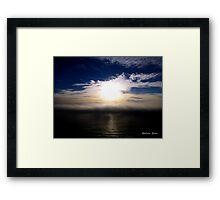 San Francisco Sunset 1518 Framed Print
