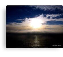 San Francisco Sunset 1518 Canvas Print