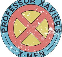 Distressed X-Men Logo by thejessi