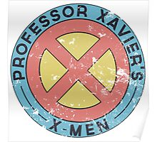 Distressed X-Men Logo Poster
