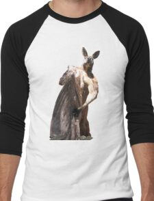 Ripped Kangaroo Men's Baseball ¾ T-Shirt