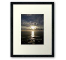 San Francisco Sunset 1521 Framed Print
