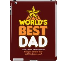 Worl'ds Greatest Dad iPad Case/Skin