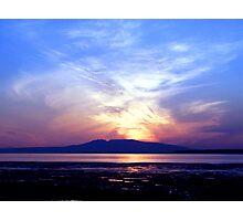 Sleeping Lady Sunset Photographic Print
