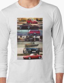 Stanced Cars Long Sleeve T-Shirt