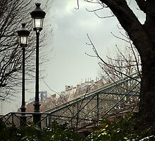 Paris lamp posts by triciamary