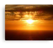 San Francisco Sunset 1527 Canvas Print