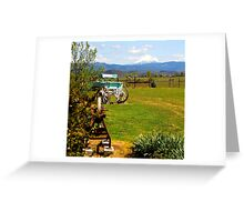 A place with a view Greeting Card
