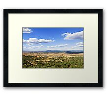Plain Framed Print