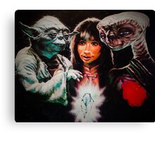 Dark Crystal of the Force Canvas Print